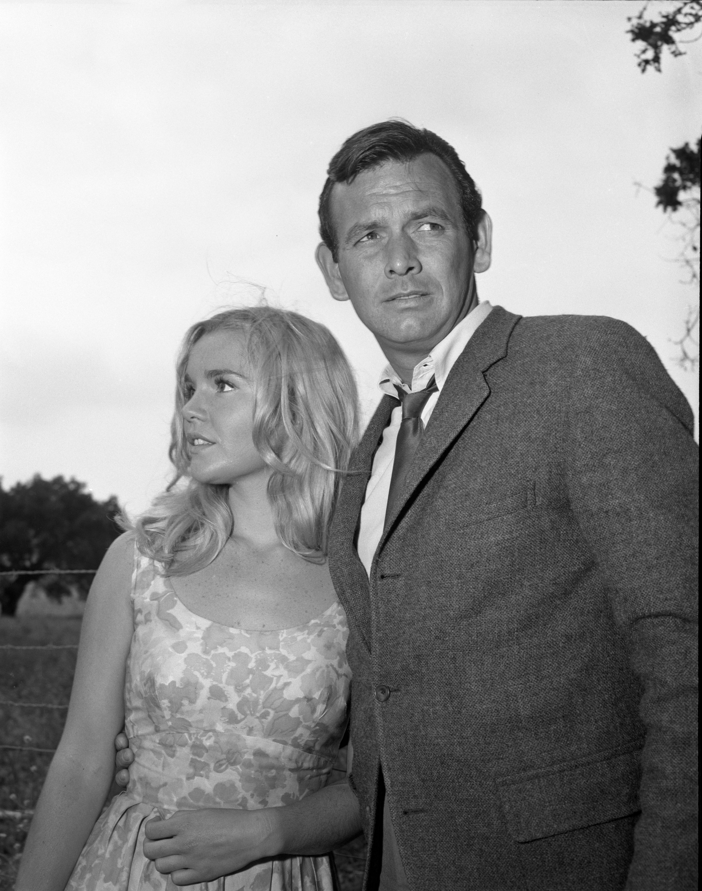 "Tuesday Weld with David Janssen in a  1964 episode of ""Dark Corner."" 