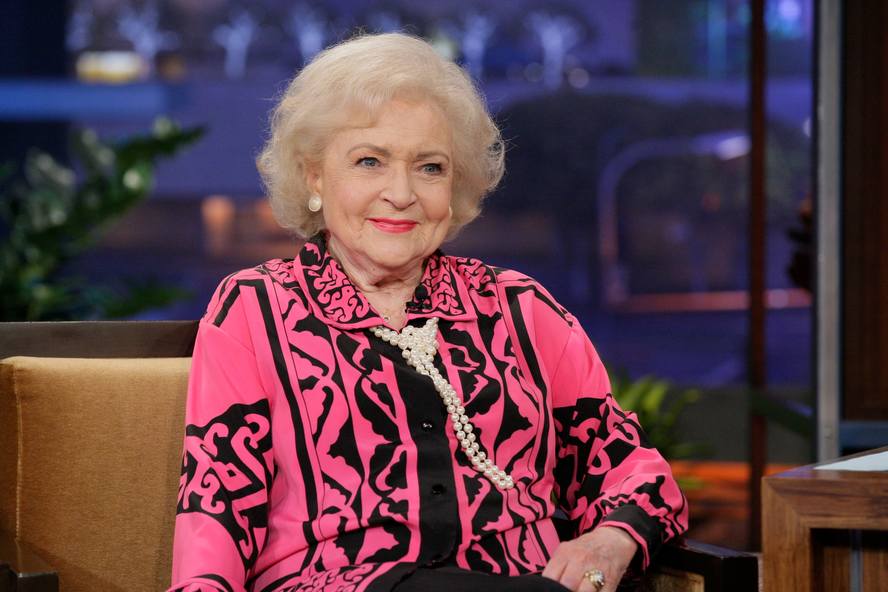 Betty White during an interview in July 2012 | Source: Getty Images