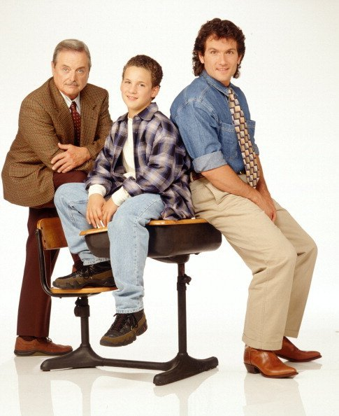 "William Daniels and other casts of ""Boy Meets World"" on the show 