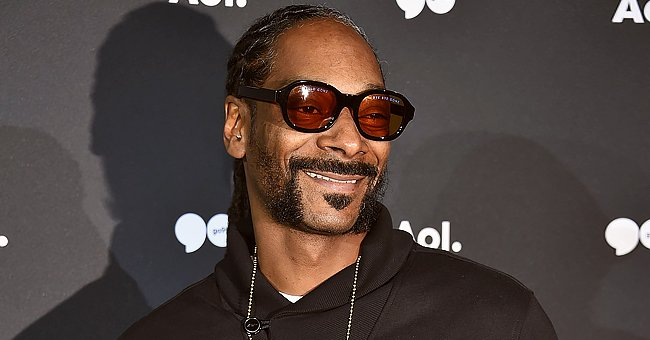 Snoop Dogg Proudly Shares Photo of His Adorable Grandson Zion in a Burgundy Suit with a Bow