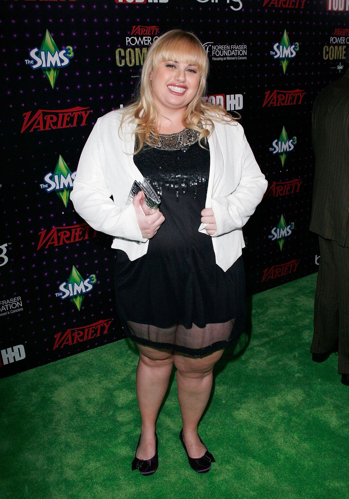 "Rebel Wilson at ""Variety's"" 1st annual Power Of Comedy event at Club Nokia on December 4, 2010, in Los Angeles, California 