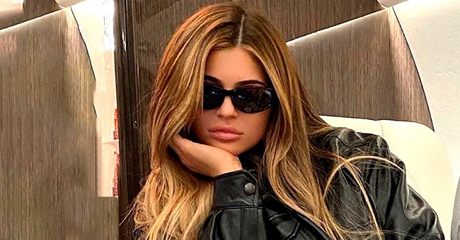 Khloé Kardashian Uses One Word to Describe Kylie Jenner's Latest Photo Posing in Ex Travis Scott's New Sneakers