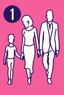 Famille numéro 1| Source : AmoMama