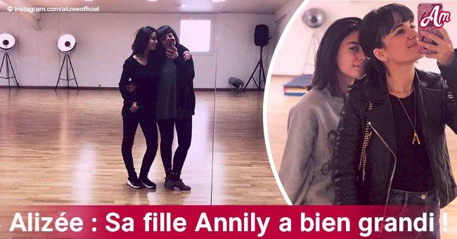 Alizee partage des photos rares de sa fille Annily, son incroyable double