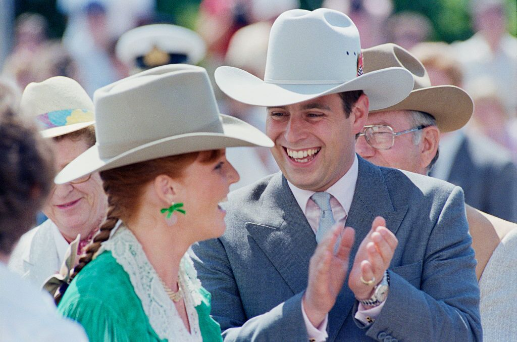 Sarah Ferguson and the Duke of York in Canada | Getty Images