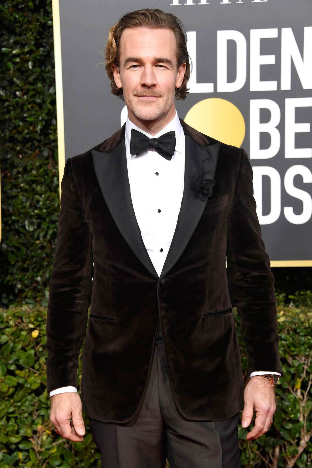 James Van Der Beek at the 76th Annual Golden Globe Awards at The Beverly Hilton Hotel on January 6, 2019 | Getty Images