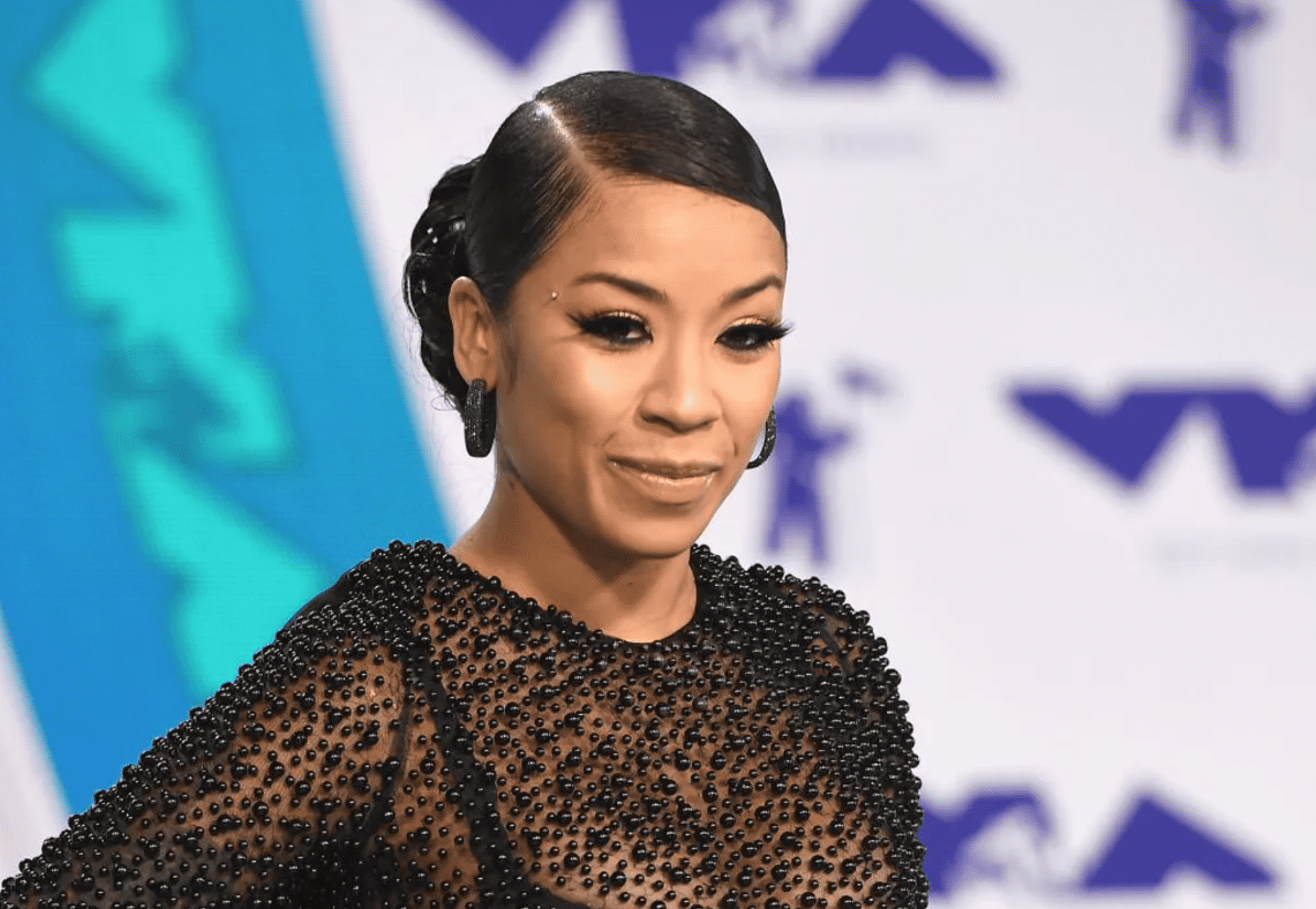 Keyshia Cole at the 2017 MTV Video Music Awards at The Forum on August 27, 2017.   Source: Getty Images