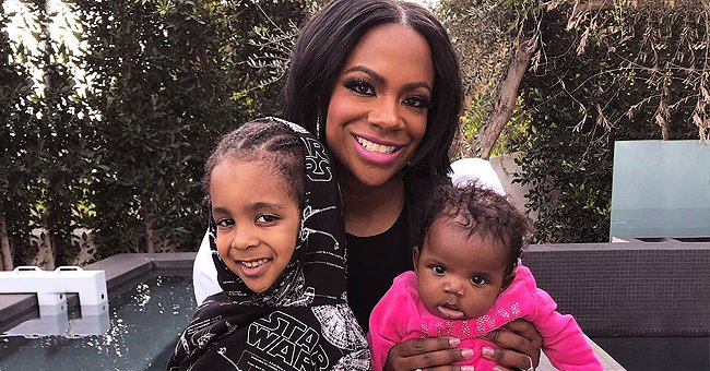 Kandi Burruss from RHOA Shares Adorable New Photos with Her Son Ace & Baby Daughter Blaze Who Share Similarities with Her