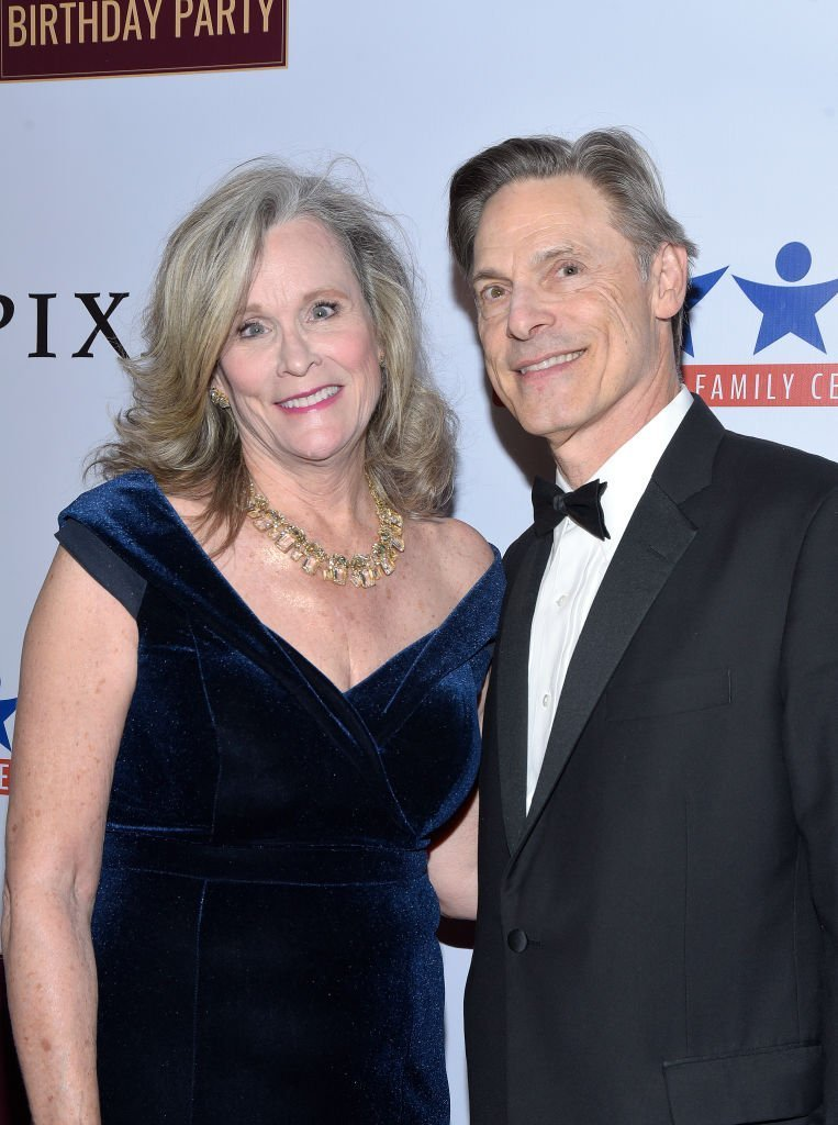 Nicholas Guest and his wife Pamela. I Image: Getty Images.