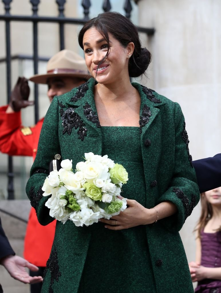 Meghan Markle à l'occasion du Jour du Commonwealth 2019 à la Maison du Canada à Londres | Photo : Getty Images