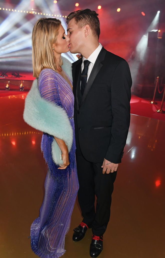 Paris Hilton et Chris Zylka au 71e Festival de Cannes en mai 2018 | Photo : Getty Images