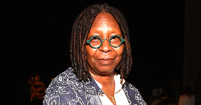 Whoopi Goldberg's Signature Dark Dreadlocks Are Silver as She Rocks Faux Locs on 'the View'