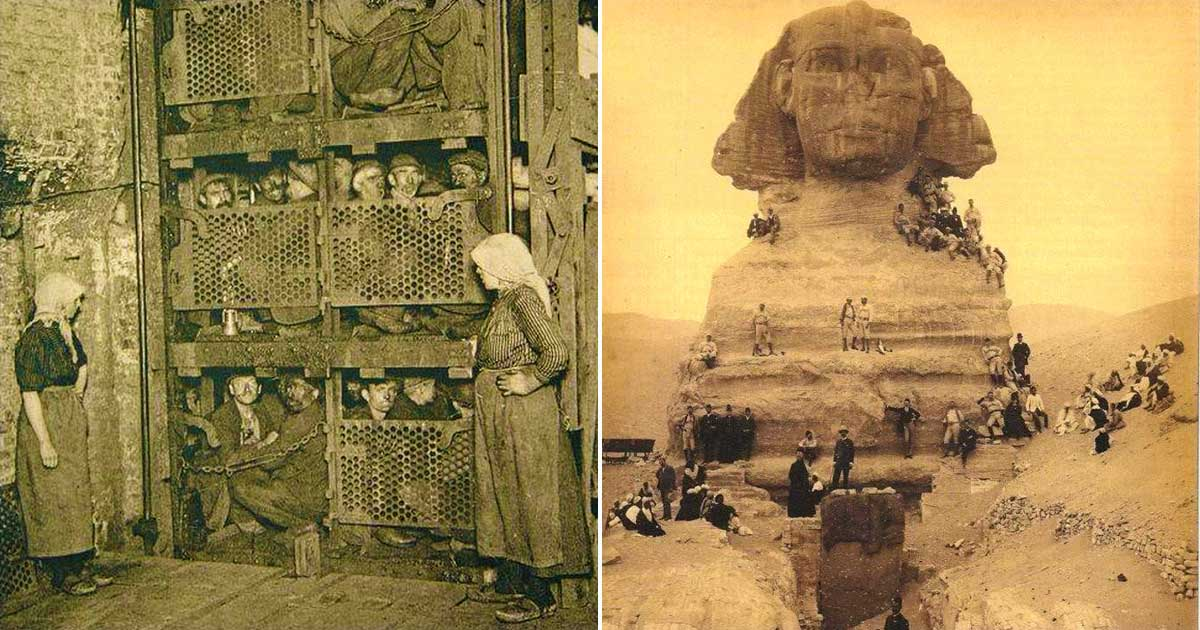 Revealing Historical Photos That Show The Past From A Different Angle