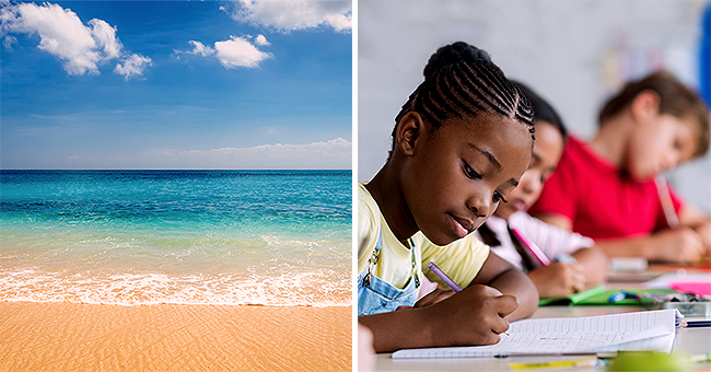 Daily Joke: Children Were Told to Write about the Sea in Their Own Words