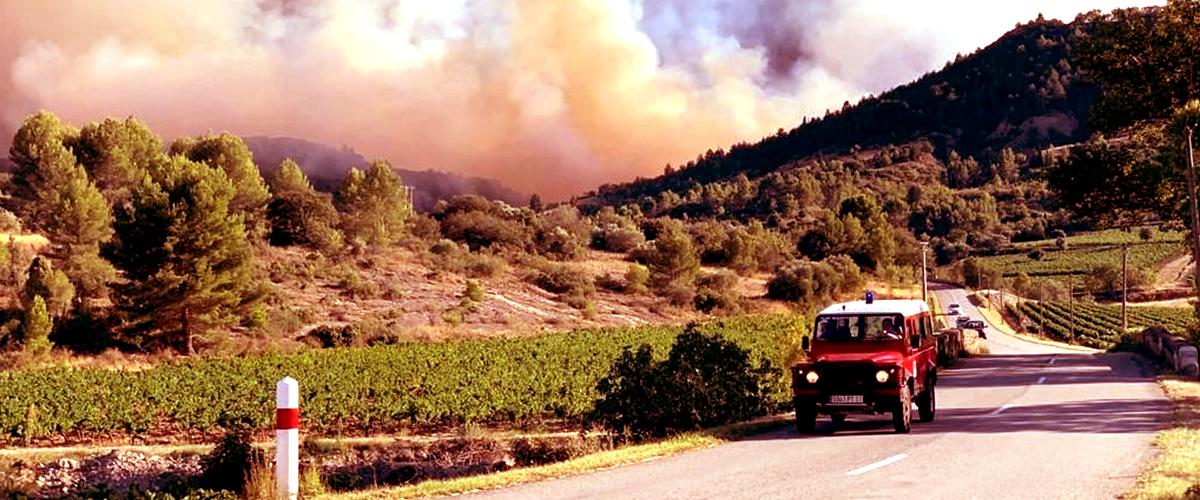 Carcassonne : le feu de la forêt reste actif, brûlant plus de 900 ha
