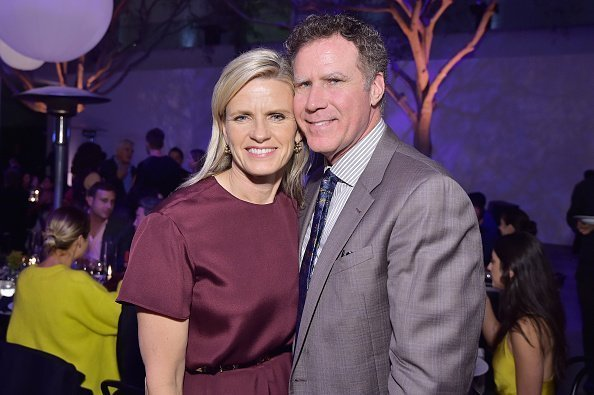 Viveca Paulin and Will Ferrell at the Hammer Museum on October 14, 2018 in Los Angeles, California | Photo: Getty Images