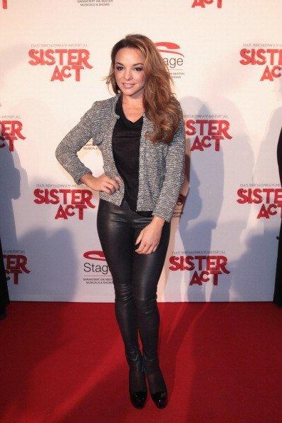 Estefania Küster, Sister Act-Premiere, Stuttgart, 2012 | Quelle: Getty Images