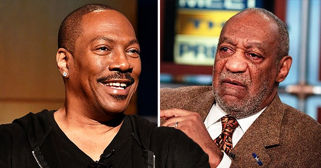 Eddie Murphy Roasts Bill Cosby in His SNL Opening Monologue: 'Who's America's Dad Now?'
