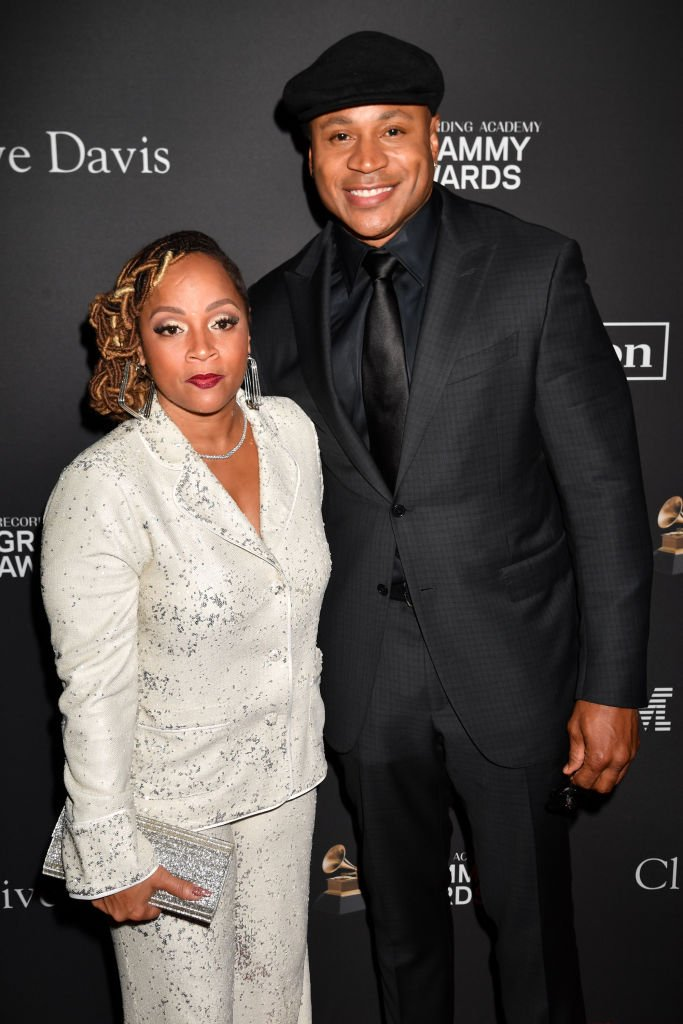 Simone Smith (L) and LL Cool J attend The Recording Academy And Clive Davis' 2019 Pre-GRAMMY Gala at The Beverly Hilton Hotel | Photo: Getty Images