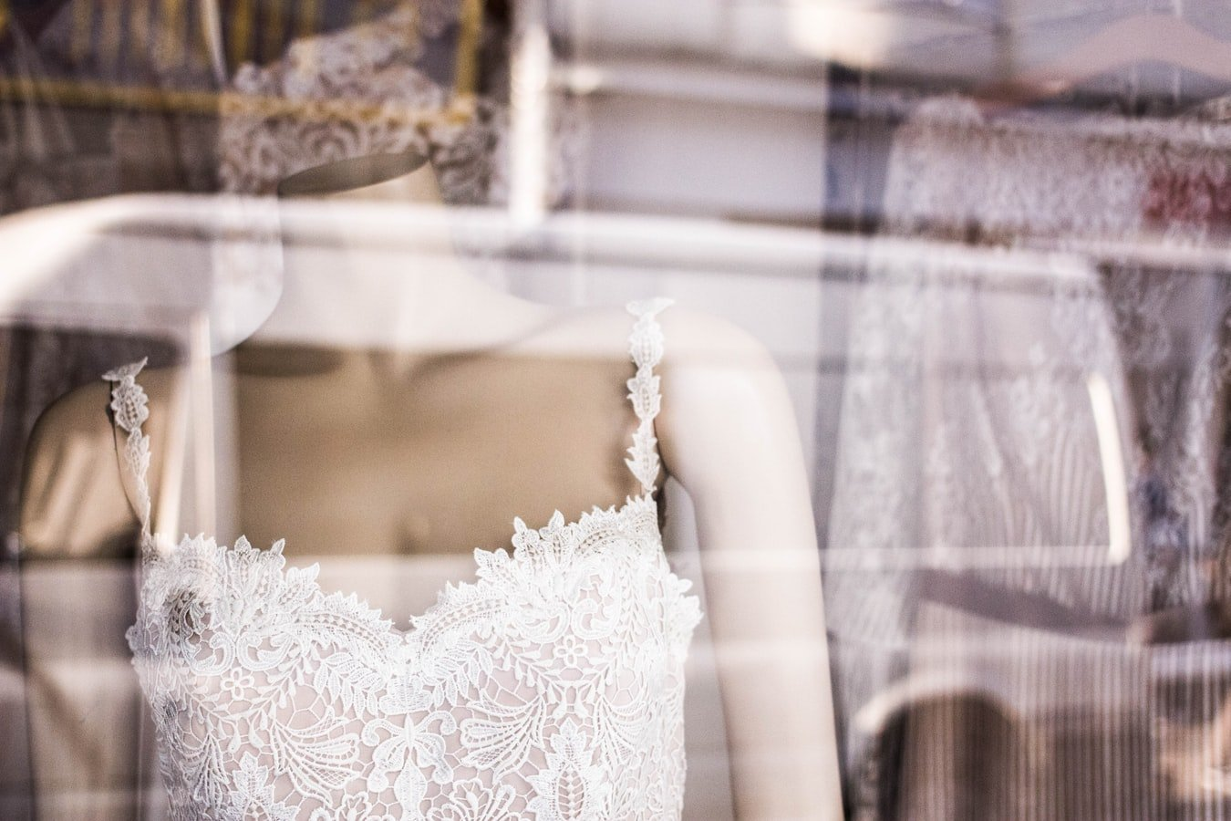 The wedding dress shop | Source: Unsplash