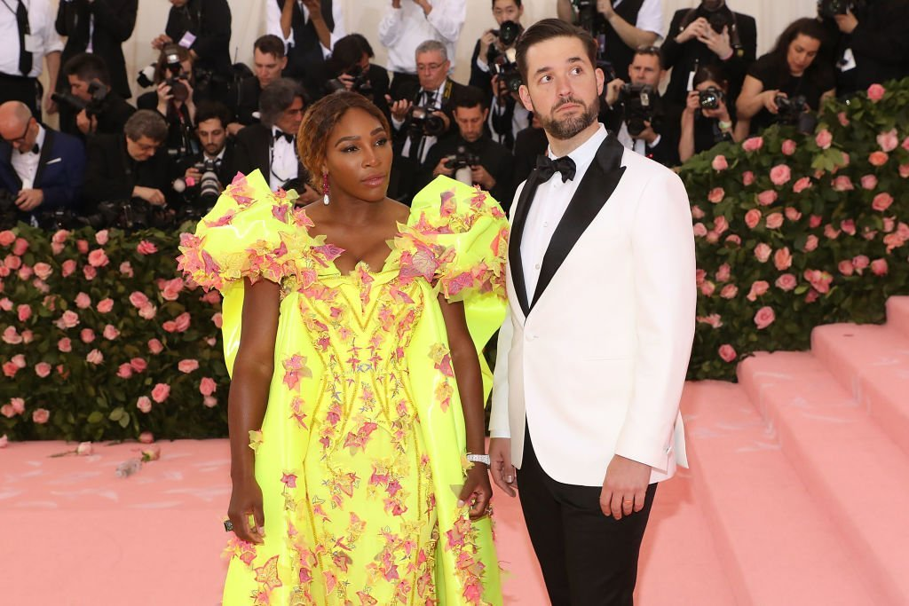 "Serena Williams and Alexis Ohanian attend the 2019 Met Gala celebrating ""Camp: Notes on Fashion"" at The Metropolitan Museum of Art on May 6, 2019. 