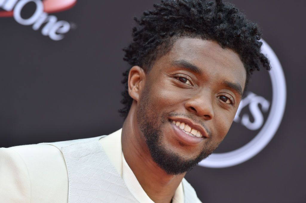 """Black Panther"" and ""Avengers: Infinity War"" actor Chadwick Boseman at The 2018 ESPYS at Microsoft Theater in Los Angeles, California 