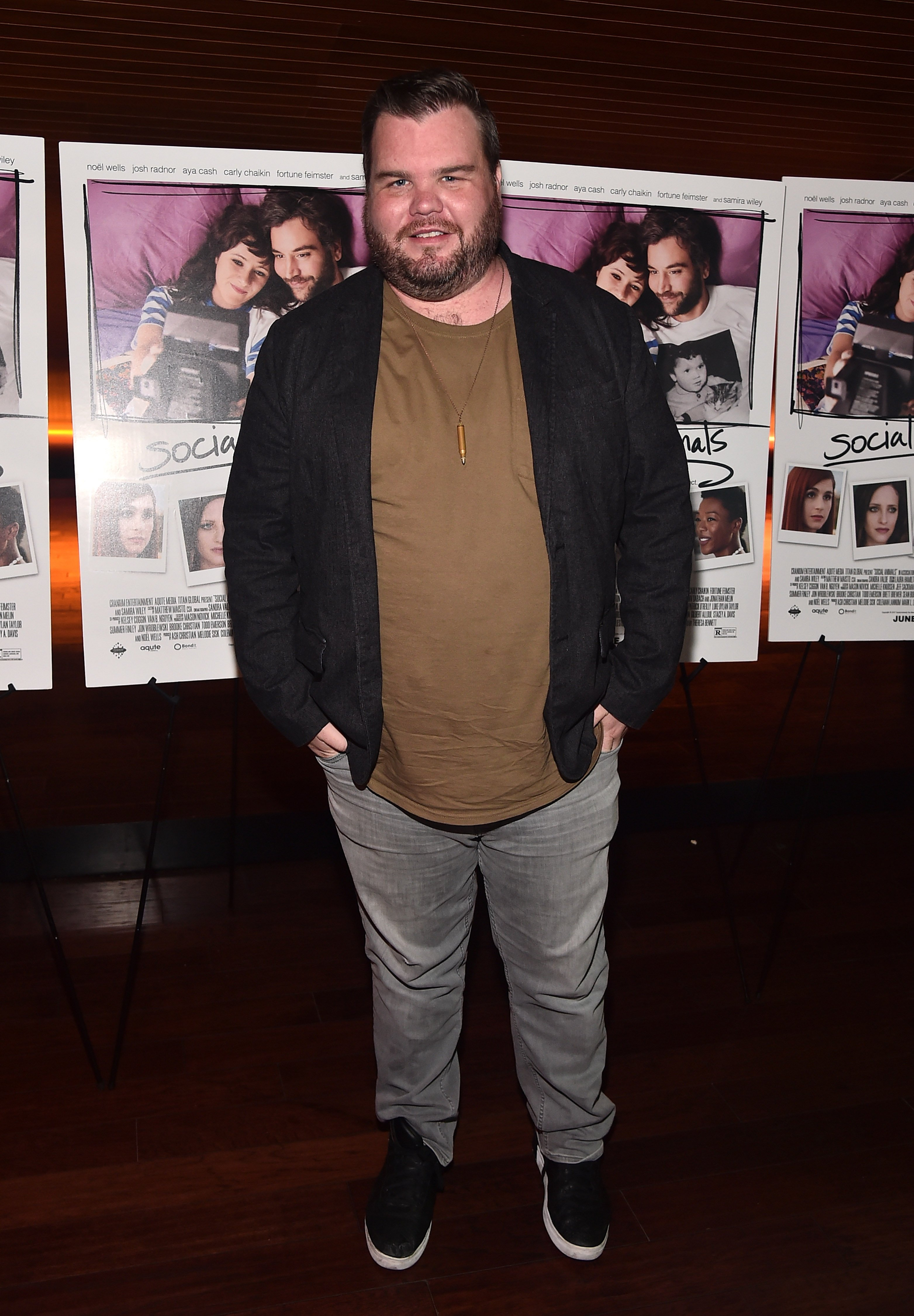 """Ash Christian atthe premiere of""""Social Animals""""on May 30, 2018, in Los Angeles, California 