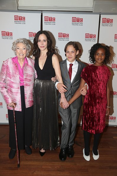 "Caroline Louise Morelli Parker, Mary-Louise Parker, William Atticus Crudup and daughter Caroline Aberash Parker at The Opening Night After Party for ""Heisenberg"" on October 13, 2016 
