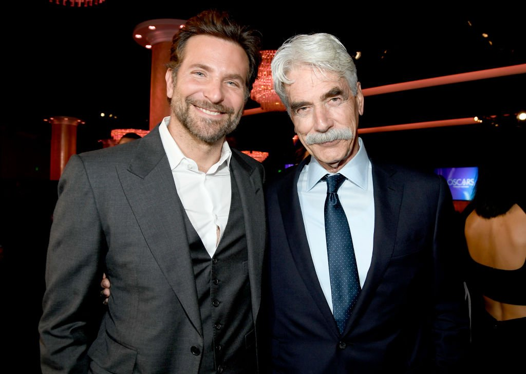Sam Elliot and Bradley Cooper attend the 91st Oscars Nominees Luncheon on February 04, 2019 | Photo: GettyImages