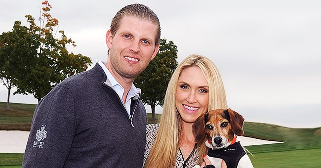 Eric Trump's Wife Lara Shares Photo of Baby Daughter Carolina Lying on a Butterfly Print Blanket