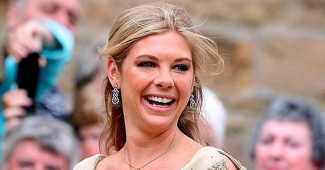 Prince Harry's ex girlfriend of seven years, Chelsy Davy during an appearance at a formal event in London | Photo: Getty Images