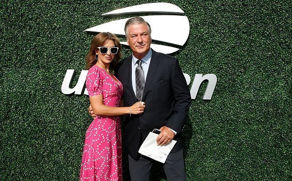 Hilaria Baldwin and Alec Baldwin attend USTA 19th Annual Opening Night Gala Blue Carpet at USTA Billie Jean King National Tennis Center in New York City | Photo: Getty Images