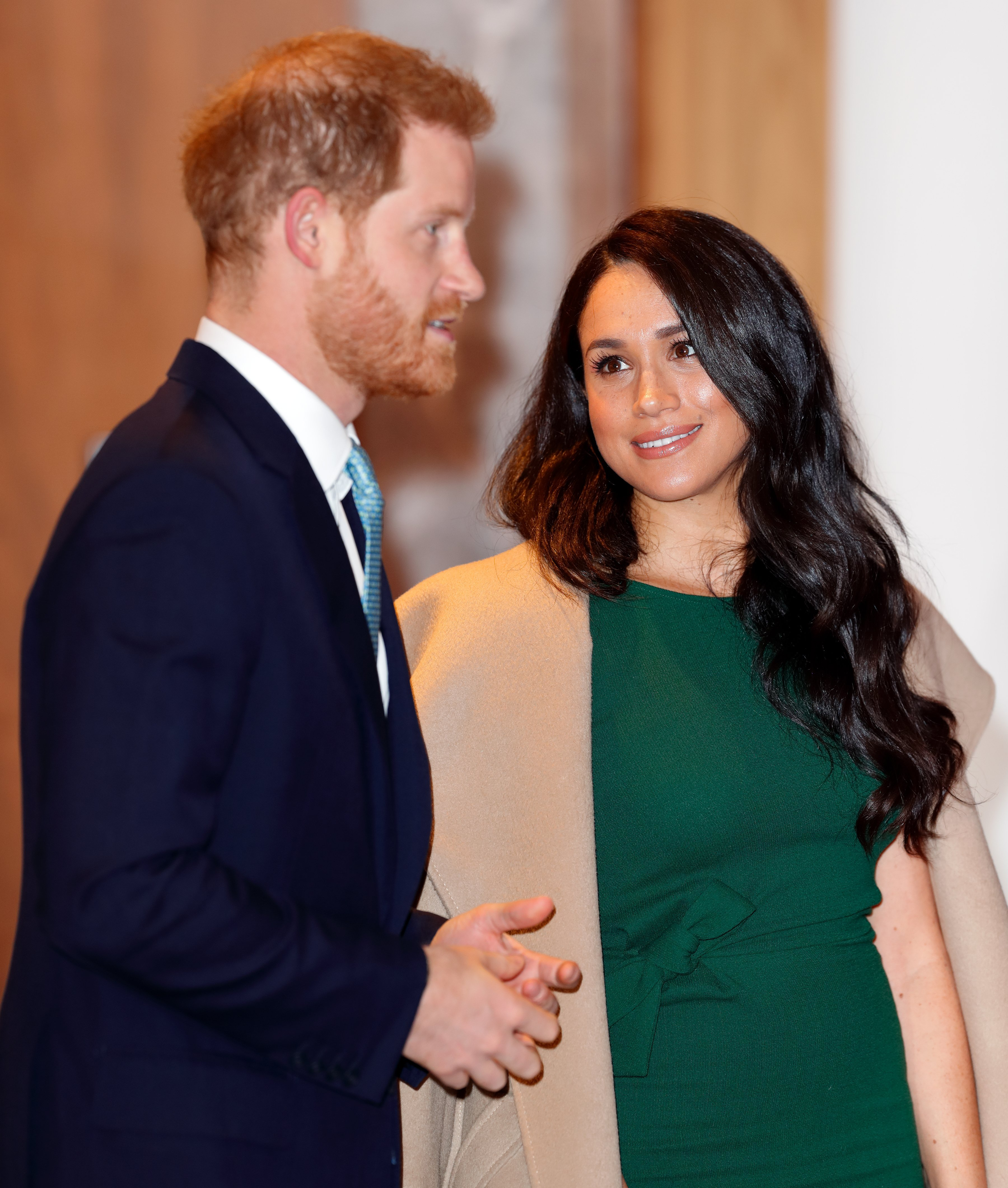 Prince Harry & Meghan Markle at the WellChild awards on Oct. 15, 2019 in London, England | Photo: Getty Images