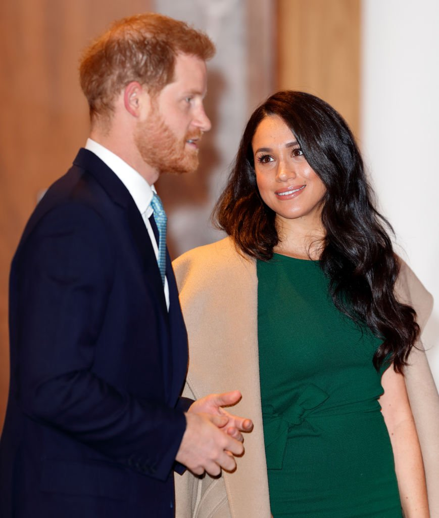Prince Harry, Duke of Sussex and Meghan, Duchess of Sussex attend the WellChild awards at the Royal Lancaster Hotel   Photo: Getty Images