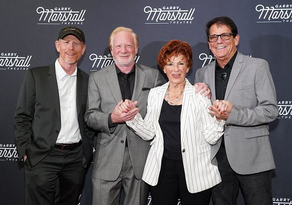 """on Howard, Don Most, Marion Ross and Anson Williams attend Garry Marshall Theatre's 3rd Annual Founder's Gala Honoring Original """"Happy Days"""" Cast at The Jonathan Club in Los Angeles 