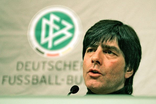 DFB-Trainer Joachim Löw bei PR in Hannover | Quelle: Getty Images