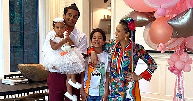 Tia Mowry Opens up on Being in Quarantine with Her Family Amid COVID-19