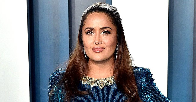 Salma Hayek Thanks Her Look-Alike Mom Diana for Their Genes as She Shares a Picture of Them Together