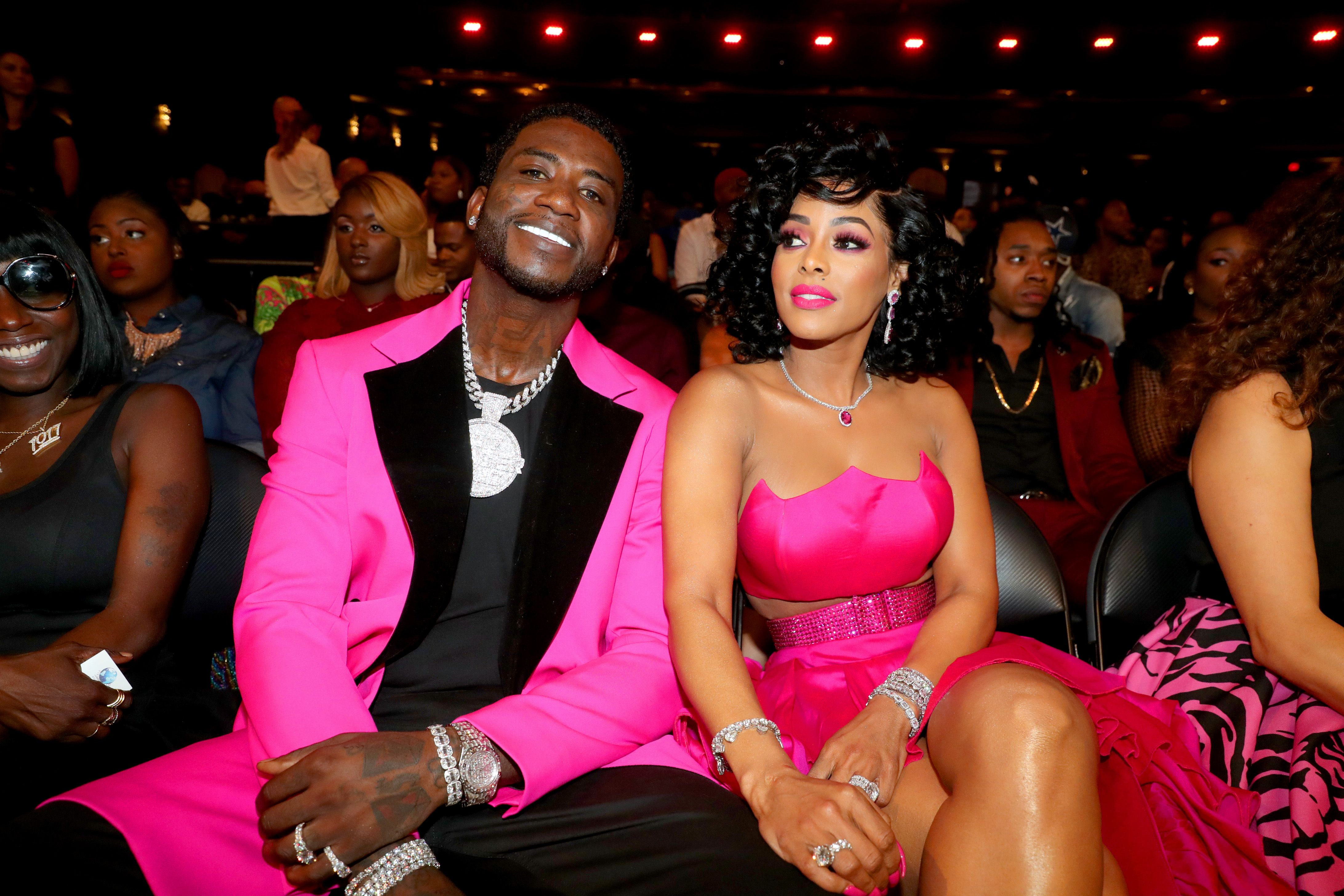 Gucci Mane and Keyshia Ka'oir during the BET Hip Hop Awards 2018 at Fillmore Miami Beach on October 6, 2018 in Miami Beach, Florida. | Photo: Getty Images.