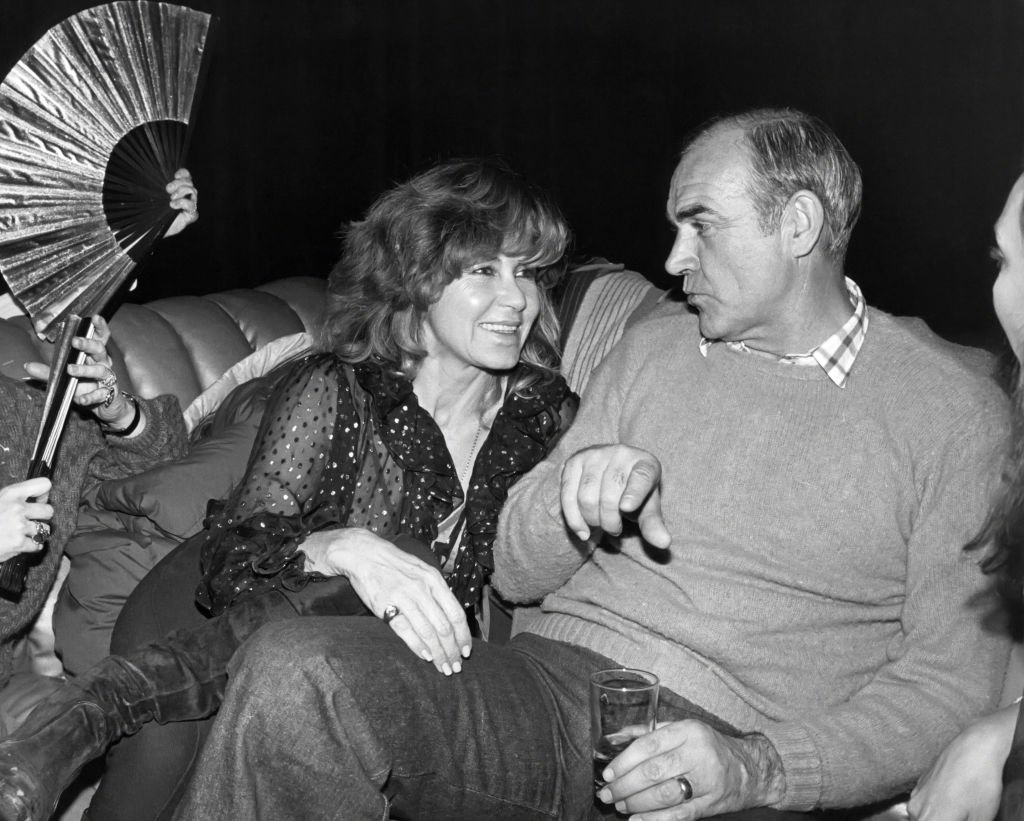 Sean Connery and wife Micheline at Studio 54 circa 1979 in New York City | Photo: Getty Images