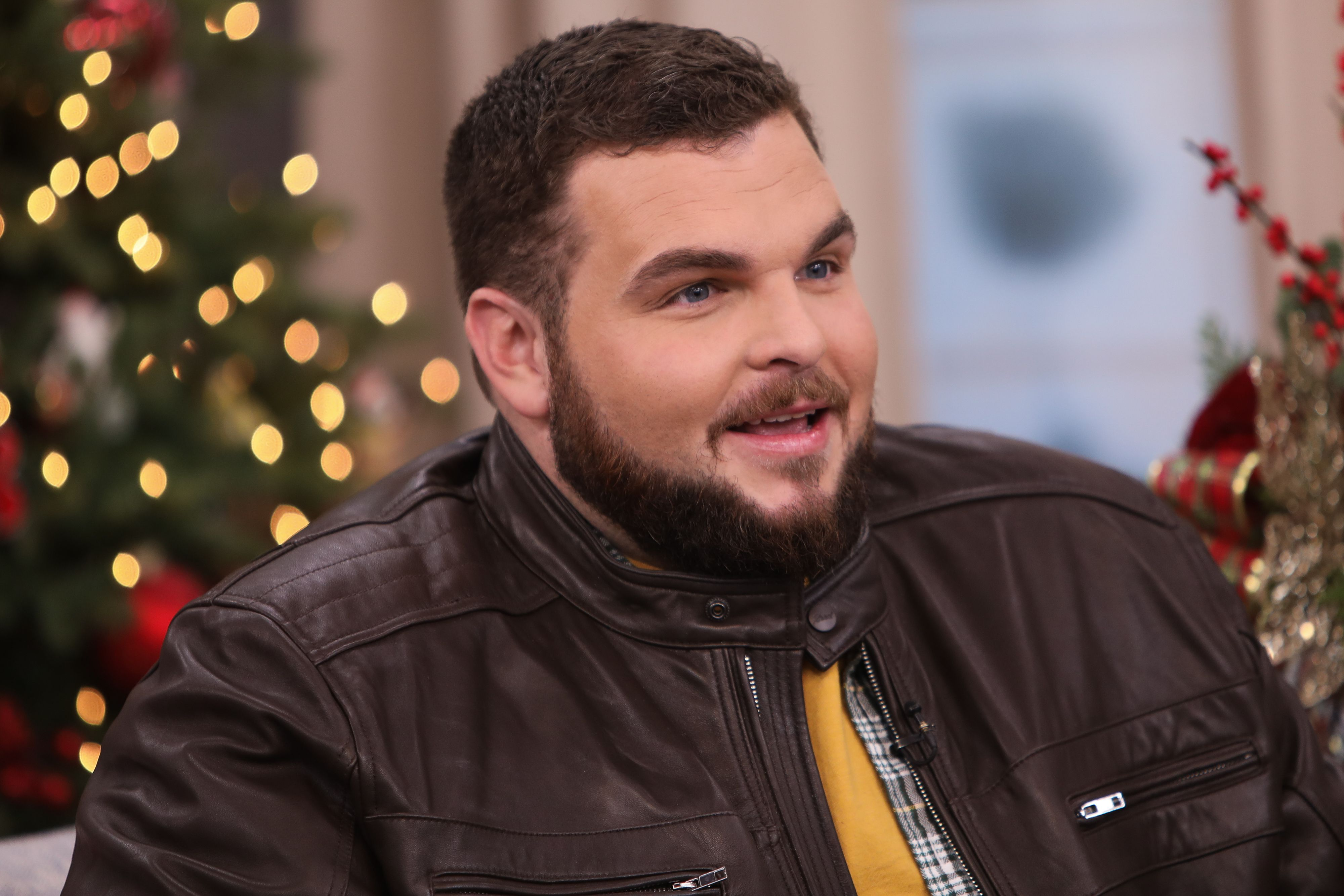 """Singer Jake Hoot at Hallmark Channel's """"Home & Family"""" at Universal Studios Hollywood on December 19, 2019 