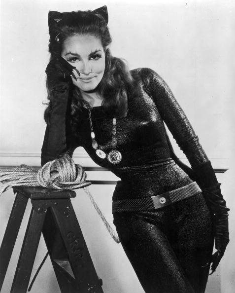 American actor Julie Newmar in costume as Catwoman in a promotional portrait for the television series 'Batman' | Photo: Hulton Archive/Getty Images