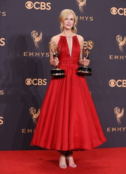 Nicole Kidman at the 69th annual Primetime Emmy Awards on September 17, 2017 in Los Angeles | Source: Getty images