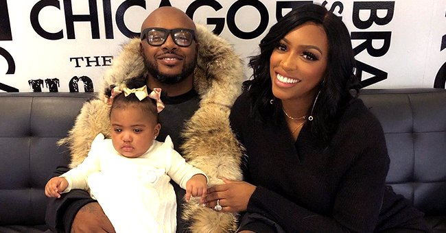 Porsha Williams' Daughter Pilar Is Adorable with Big Eyes and Plump Lips in Dad Dennis McKinley's Video