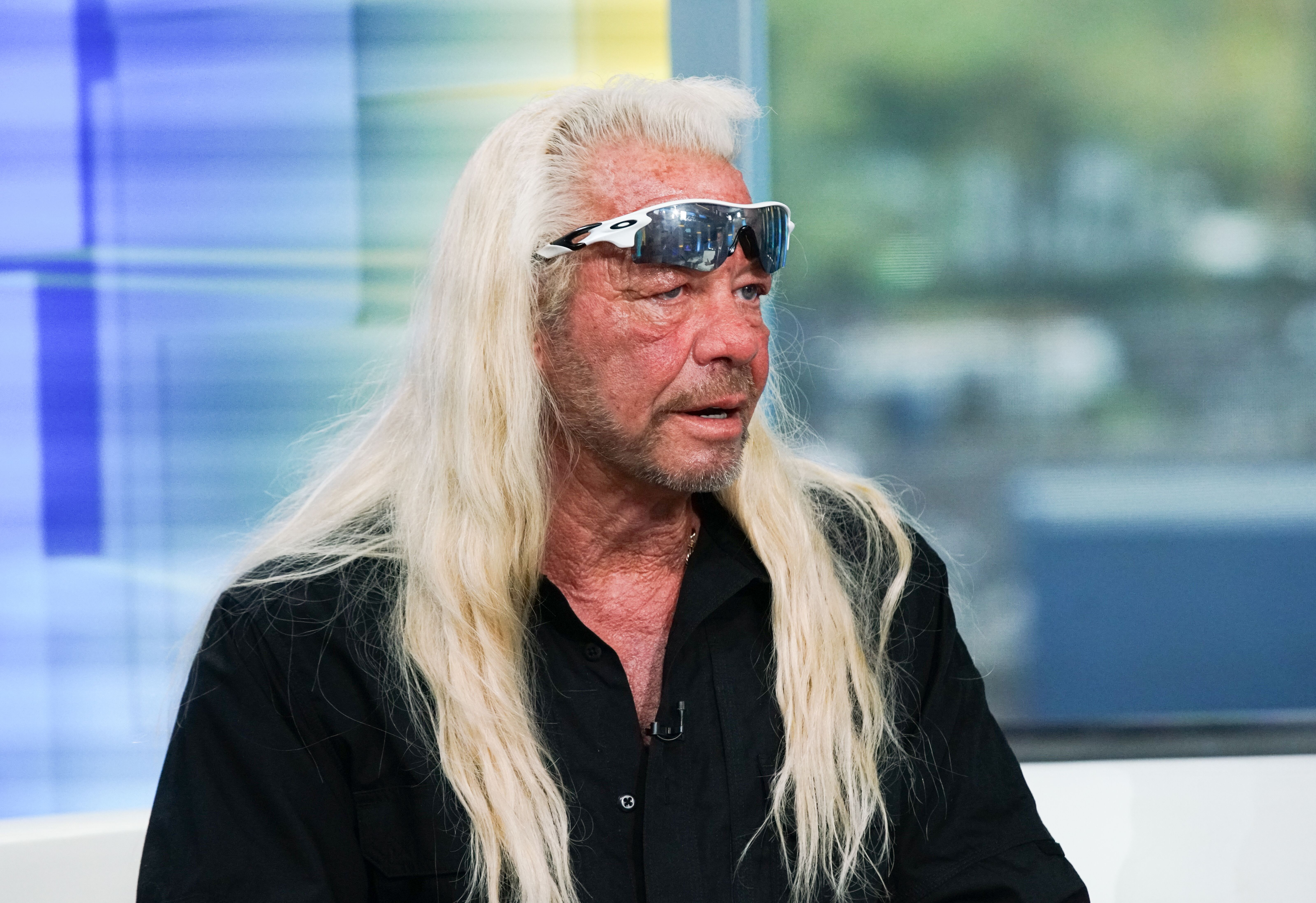 """:TV personality Duane Chapman aka Dog the Bounty Hunter visits """"FOX & Friends"""" at FOX Studios on August 28, 2019 in New York City 
