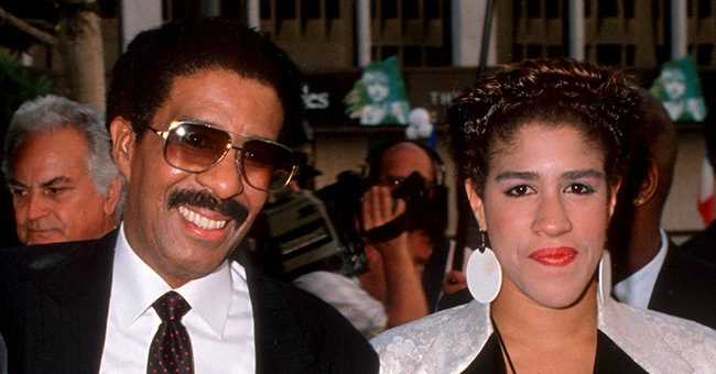 Comedian Richard Pryor and his daughter Rain | Source: Getty Images