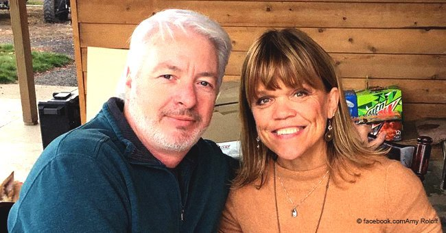 Amy Roloff with boyfriend Chris Marek | Source Getty