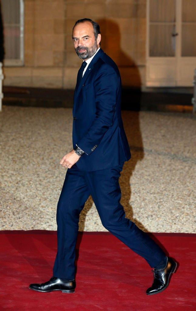 Édouard Philippe le Premier ministre. l Source : Getty Images