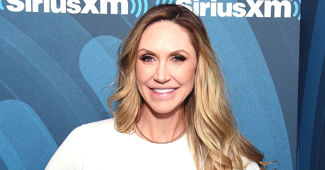 Lara Trump Flaunts Baby Bump in Off-The-Shoulder Pink Dress at 2020 Campaign Kickoff