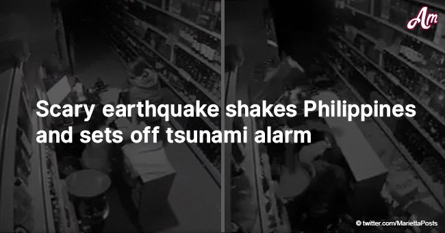 Scary earthquake shakes Philippines and sets off tsunami alarm